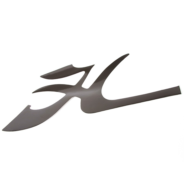"""DECAL BOW - FLYING """"H"""" BLK"""
