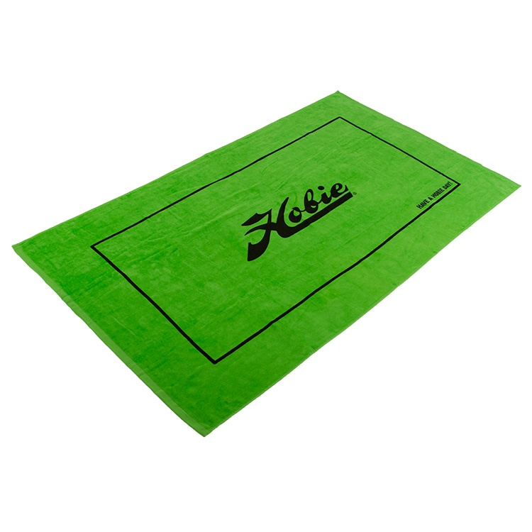 HOBIE BEACH TOWEL-LIME 35x60