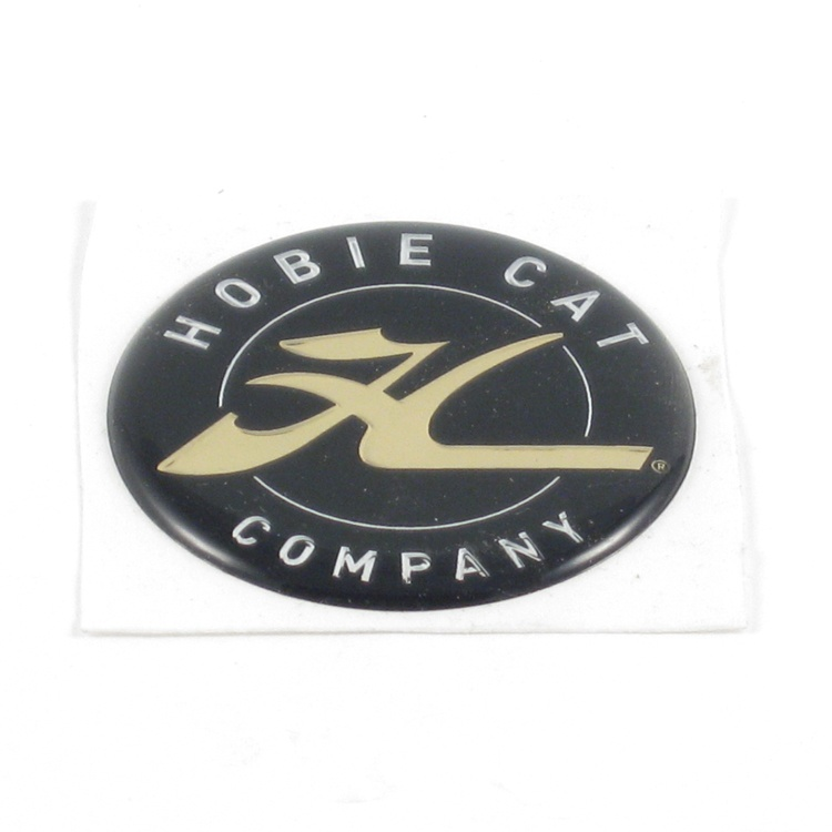 """DECAL DOME, HCWW GOLD 1.75"""""""