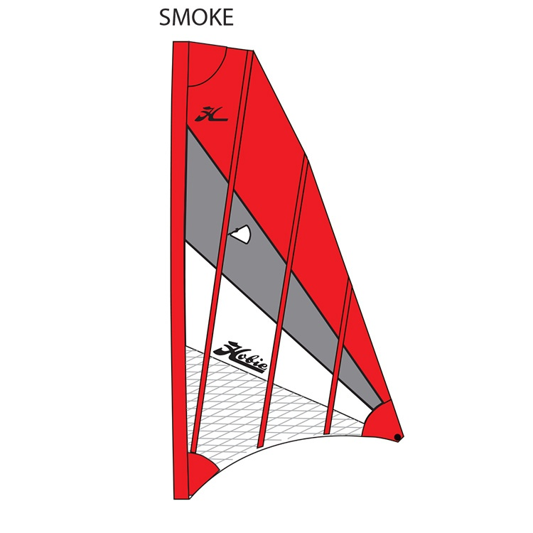 SAIL ADV V2 RED/GRAY/WHT (SMOK