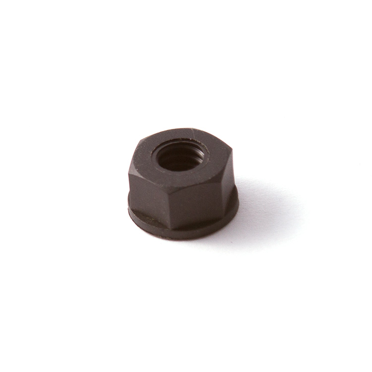 NUT 1/4-20 NYLON BLK
