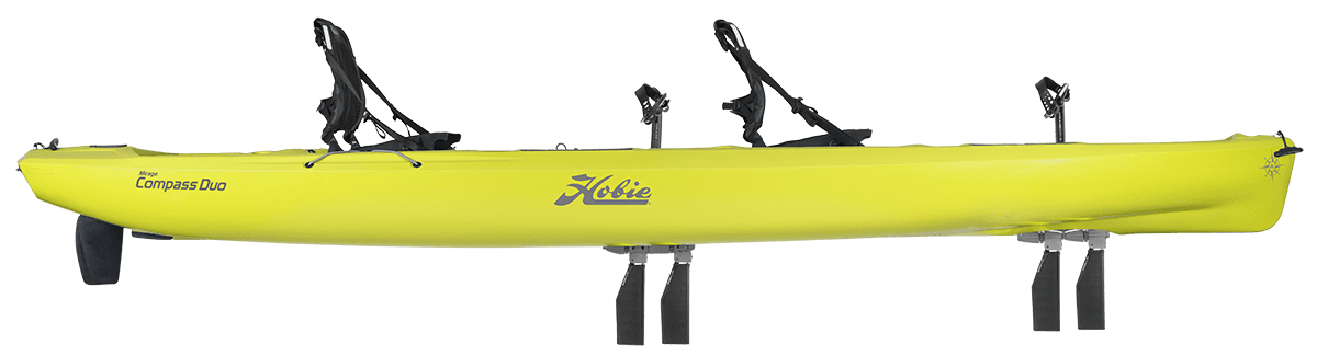 Compass Duo Kayak side view in seagrass