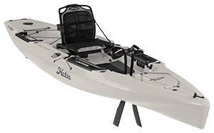 Hobie Outback Kayak side view Ivory Dune 2021 Model