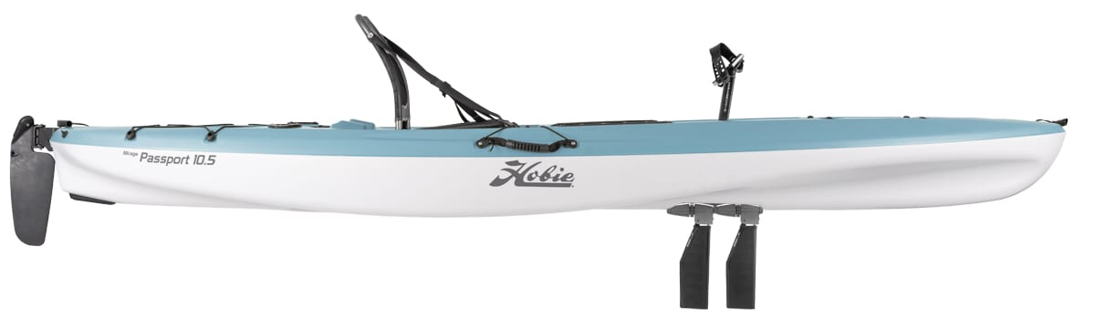 Hobie Passport 10.5 2020 with GT Mirage Drive and Kick up fins